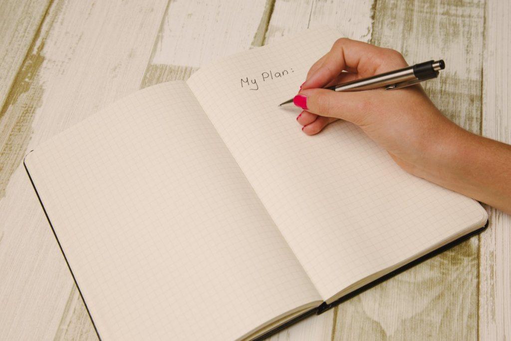 Plan schrijven